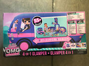 Glamper Fashion Camper Dollhouse Lol Surprise Omg 4-in-1 With 55 Surprises