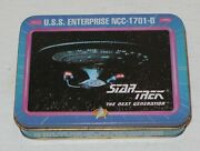Vintage Star Trek The Next Generation Deck Of Playing Cards In Collectors Tin