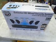 Night Owl Extreme Hd Wired Security System 8 Channel 5mp Hd Dvr 1tb And 4 Cameras