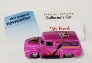 Hot Wheels 18th Convention '56 Ford Panel Truck Pink Mint Very Nice
