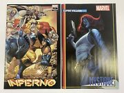 Inferno 1 125 + 150 Capullo Set Of 2 2021 Marvel Comic In-hand Ships Now