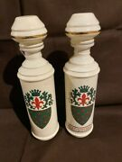 Vintage 1962 Fitzgerald Kentucky Straight Bourbon Whiskey Decanters - Set Of 2