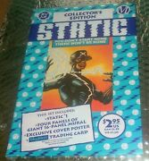 Static 1 1993 1st Appearance Of Static - Sealed Polybag - Dc/milestone
