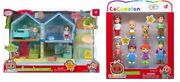 New Cocomelon Toy Bundle Lot Family Playhouse And Family 8 Pack