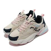 Fila Beats Tracer 2.0 Beige White Pink Women Casual Lifestyle Chunky Shoes