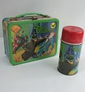 Original The Green Hornet Lunch Box And Water Bottle Vintage