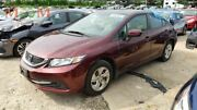 Driver Side View Mirror Power Coupe Body Color Fits 14-15 Civic 2070479