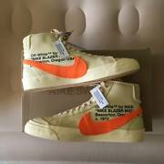 Brand New Nike Blazer Mid X Off-white All Hallows Eve Size 12 No Extra Laces