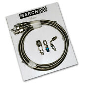 March Performance Gm Pump Reusable Ends Power Steering Hose Kit P/n P3222