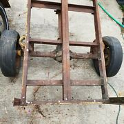 All Original 1965 Ford Mustang Rear End Axle Differential Driveshaft Trailer
