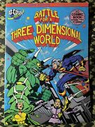 Battle For A Three Dimensional World Signed By Jack Kirby