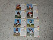 8 1962 Post Cereal Football Card Lot-113157170172182187196198-norm Snead