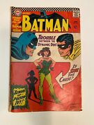 Batman 181 Comic Book Vintage 1966 First Appearance Of Poison Ivy