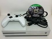 Xbox One S 500gb - 1 Controller - 1 Call Of Duty Game - Power Cable Hdmi Cable