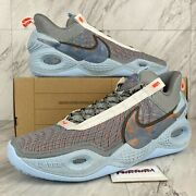 Nike Cosmic Unity Menand039s Size 15 Shoes Grey Chambray Blue Da6725-002 No Lid
