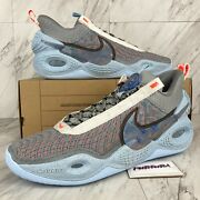 Nike Cosmic Unity Menand039s Size 13.5 Shoes Grey Chambray Blue Da6725-002 No Lid