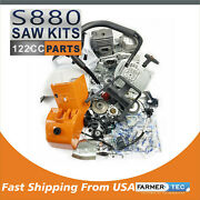 Farmertec Complete Repair Parts Kit For Stihl Ms880 088 Chainsaw Fuel Gas Tank