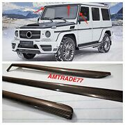 Mansory Brabus Style Carbon Fibre Panels For Front Window G Class W463 G63