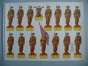 Britain Military Army Toy Soldiers Wwii Paper Dolls