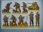 France Military Army Toy Soldiers Wwii Paper Dolls