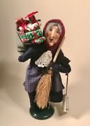 Byers Choice Caroler Old Befana 1996 Signed And Dated W/ Original Tag
