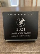 American Eagle 2021 One Ounce Silver Proof Coin S San Francisco 21emn In Hand