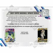 2021 Topps Update Complete Base Set 330 Cards Free Secure Shipping Presale