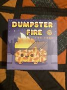 Dumpster Fire Candy Corn Limited Edition Vinyl Figure In Hand New By 100 Soft