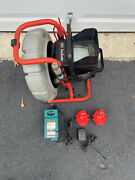 Ridgid Seesnake Compact Cameraw/2 Batteries And Charger Sonde Sewer Camera