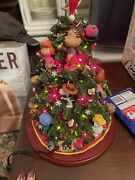 Danbury Mint The Peanuts Christmas Tree Large Lighted Sculpture, Snoopy