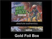 2015 Topps Mars Attacks Occupation /50 Gold Foil Limited Edition Sealed Box