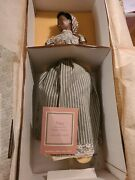 Gone With The Wind Franklin Mint Heirloom Prissy Porcelain 18 Doll Nrfb