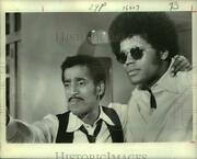 1970 Press Photo Sammy Davis Jr. And Clarence Williams Iii In The Mod Squad