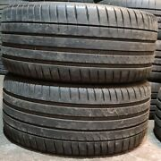 X2 Matching Pair Of 255/35/19 Michelin Pilot Sport 4 96y Tyres
