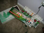 2 Vtg Boxes Bubble String Lights Noma And Foremost Mult-color Bulbs 1 Mini Set