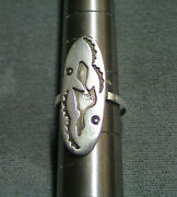 Vintage Thunderbird Sterling Silver Ring Southwest Trademark B Handcrafted