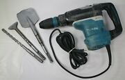 Makita Hr4013c 1-9/16 Sds-max Avt Rotary Hammer W/ Bits And Case - Tested