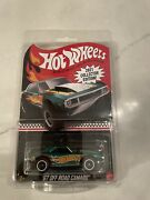 2021 Hot Wheels Andlsquo67 Off Road Camaro Mail In Exclusive Collector Edition Green