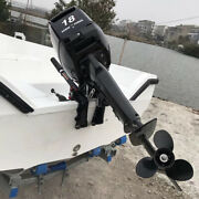 Hangkai 2stroke Outboard Motor Engine Fishing Boat Cdi Water Cooling System 18hp