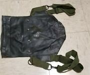 Original Wwii Ww2 Us Army D Day Rubber Gas Mask Carrier Bag