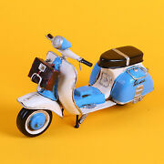 Free Shipping Oversized Metal Tin Toys Motorcycles Motorcycles Scooter Vespa B