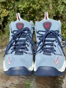 Men's Nike Air Pippen Work Blue/red/white Athletic Shoes 325001-403 - Size 10