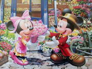 Discontinued Product Unopened Disney Minnie Flower Shop 2000p
