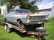 67 Ford Galaxie 2dr Hardtop Parting Out Many Parts--