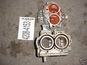 19 Montgomery Ward 12hp Outboard Motor Engine Cases