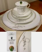 Waterford China Ballet Jewels 20 Pc Set Service / 4 - Wedding - New