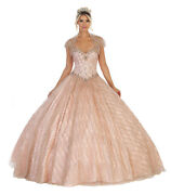 Strapless Special Occasion Formal Classy Gown Sweet 16/15 Ball Corset Back Dress