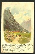 Romsdalshorn Litho Rauma Norway Norge Stamp 1899