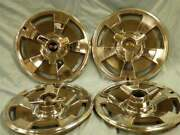 1966 Corvette Original Hubcaps 4 15in.