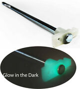 100 Glow In Dark 10 Tent Stakes Nail Peg Canopy Steel